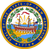 New Hampshire State Seal Opens in new window